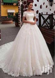 Beautiful Off-Shoulder Wedding Gown | Wedding Wear for sale in Greater Accra, Korle Gonno