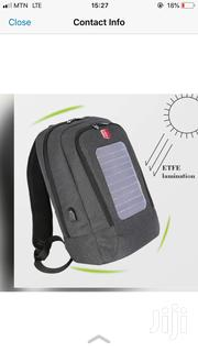 Anti Theft Backpack With Solar | Bags for sale in Greater Accra, Alajo
