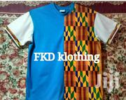 African Print Blend T-Shirt | Clothing for sale in Greater Accra, Achimota