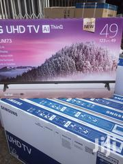 LG 49 Inch LED Ultra HD 4K Webos Smart TV With Built In 4K- 49UM7310 | TV & DVD Equipment for sale in Greater Accra, Adabraka