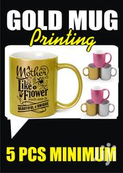 Mug Gold Print | Computer & IT Services for sale in Greater Accra, Osu