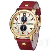 CURREN Red Leather Watch | Watches for sale in Greater Accra, East Legon (Okponglo)