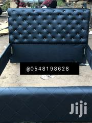 Black Double Bed | Furniture for sale in Greater Accra, Airport Residential Area
