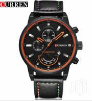 Black Leather CURREN Watch | Watches for sale in Greater Accra, Accra Metropolitan