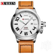 Brown Leather CURREN Watch | Watches for sale in Greater Accra, Dansoman