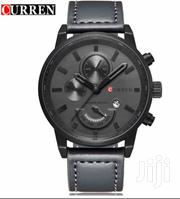 Original Black LEATHER CURREN Watch | Watches for sale in Greater Accra, Dansoman