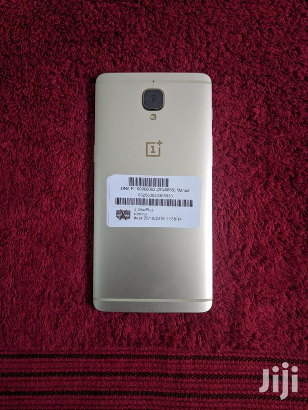 Archive: New OnePlus 3 64 GB Gold