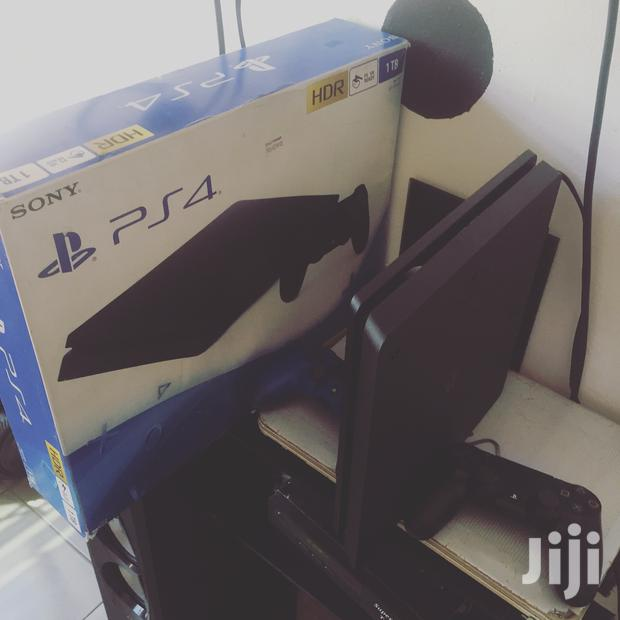 Archive: PS4 Slim Console Jet Black 1TB With 2 Game Pads