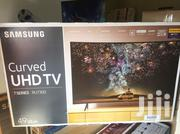 """Web Browser Samsung 49""""Curved Smart 4K UHD Led TV 