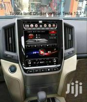 12' Tesla Toyota Land Cruiser Vertical Radio | Vehicle Parts & Accessories for sale in Greater Accra, South Labadi