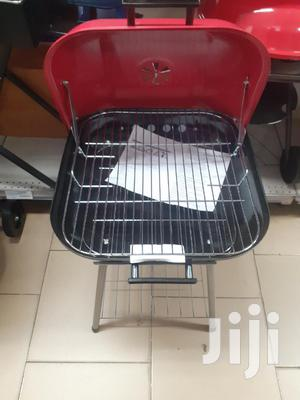 Moveable Barbecue Grill