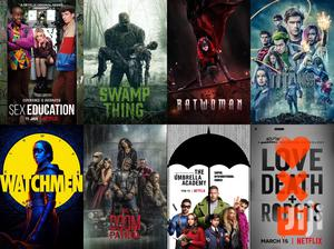Marvel & DC Movies & TV Shows
