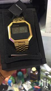 Original Nixon Re Run Watch All Gold | Watches for sale in Greater Accra, Abelemkpe