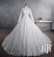 Beautiful Turtle Neck Wedding Gown | Wedding Wear for sale in Greater Accra, Korle Gonno