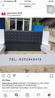 King Size Bed Frame Black and White | Furniture for sale in Greater Accra, Kokomlemle