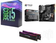 Intel Core I5-9600k & MSI MAG Z390 TOMAHAWK   Computer Hardware for sale in Greater Accra, North Kaneshie