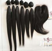 Straight Hair With Closure | Hair Beauty for sale in Eastern Region, Asuogyaman