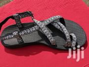 Black White Ladies Sandals From U.K for Sale   Shoes for sale in Greater Accra, North Kaneshie