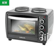 Cookworks 28liters Oven/Grill With Hot Plates | Kitchen Appliances for sale in Greater Accra, Achimota