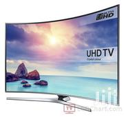 Powerful Picture Quality Samsung 55~Curved Smart Satellite 4K UHD TV. | TV & DVD Equipment for sale in Greater Accra, Adabraka