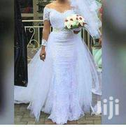 Beautiful Long Sleeve Detachable Gown | Wedding Wear for sale in Greater Accra, Korle Gonno