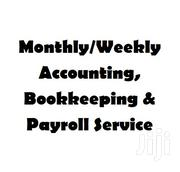 Monthly/Weekly Accounting, Bookkeeping & Payroll Service | Tax & Financial Services for sale in Greater Accra, Accra Metropolitan