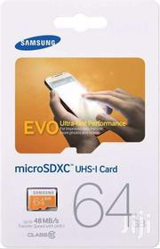 Samsung EVO 64GB Microsdxc Micro SD SDXC UHS Microsd | Clothing Accessories for sale in Eastern Region, Asuogyaman