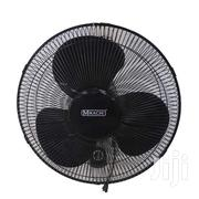 "MIKACHI Wall Mount Fan 16""-Black 