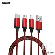 Good Quality 3 In 1 USB Cable (Data Cable) | Accessories for Mobile Phones & Tablets for sale in Greater Accra, Achimota