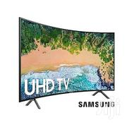 "Curved Samsung 65"" UHD 4K HDR Satellite Smart Series 7 TV 