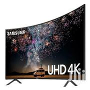 Samsung 4K Ultra HD Smart Curved LED TV 55 Inches | TV & DVD Equipment for sale in Greater Accra, Adabraka