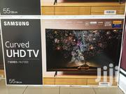 Samsung 55 Class HDR 4K Ultra HD Smart Curved LED TV | TV & DVD Equipment for sale in Greater Accra, Tema Metropolitan