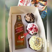 Three Cup Cakes And One Alcoholic Drink | Meals & Drinks for sale in Greater Accra, Tema Metropolitan