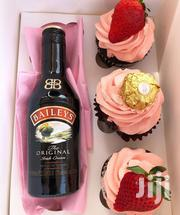 Three Cupcakes With One Alcoholic Beverage | Meals & Drinks for sale in Greater Accra, Tema Metropolitan