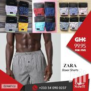 Zara Man Boxer Shorts (Pack Of 5) | Clothing for sale in Greater Accra, Accra Metropolitan