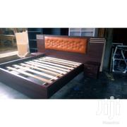Design Queen Beds With Tow Side Drawers | Furniture for sale in Greater Accra, Abelemkpe