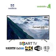 Slim Curved 55~Nasco Satellite 4K Smart UHD LED Tele | TV & DVD Equipment for sale in Greater Accra, Adabraka