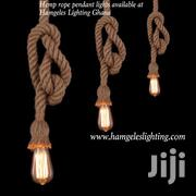 Hemp Rope Pendant Lights at Hamgeles Lighting | Home Accessories for sale in Greater Accra, Airport Residential Area