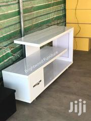 Tv Stand (White Glossy) | Commercial Property For Sale for sale in Greater Accra, Tesano