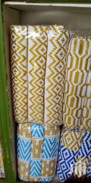 Quality White And Gold Bonwire Kente Cloth | Clothing for sale in Eastern Region, Asuogyaman