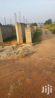 A Plot With Uncompleted Two Stores at Kumasi Akropon | Houses & Apartments For Sale for sale in Ashanti, Atwima Nwabiagya