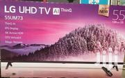 LG 55inch Smart UHD 4k Digital Satellite TV + Magic Remote | TV & DVD Equipment for sale in Greater Accra, Adabraka