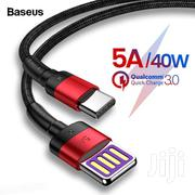 Baseus 1m Cafule Type C Cable | Accessories for Mobile Phones & Tablets for sale in Greater Accra, Ga East Municipal