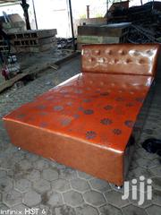 Royal Beijing, Leather Double Bed | Furniture for sale in Greater Accra, Ga West Municipal