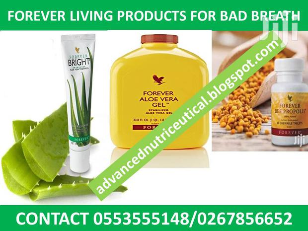 Forever Living Products for Halitosis (Bad Breath)