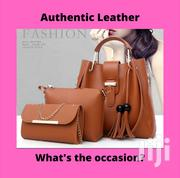 Women Fashion Brown Three In One Set Bags Available In Stock | Bags for sale in Greater Accra, Accra new Town