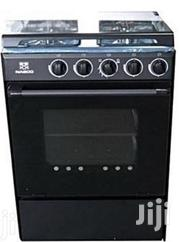 Brand New Nasco 4 Burner Gas Cooker With Oven Black Mirror | Restaurant & Catering Equipment for sale in Greater Accra, Accra Metropolitan