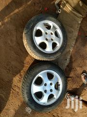Rim 14 With Tyre 4 Set Going For A Cool Price   Vehicle Parts & Accessories for sale in Greater Accra, Odorkor