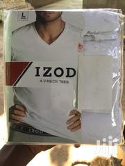Izod 4 Large V-Neck T-Shirts in a Pack From America for Sale | Clothing for sale in Greater Accra, North Kaneshie