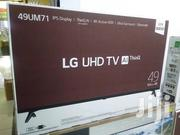 """Lg 49"""" Uhd 4K Smart Thinq Ai Satellite LED TV 